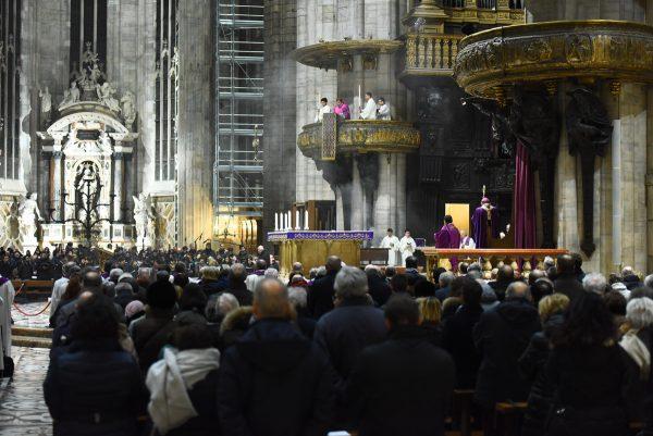 In Duomo Messa per don Giussani