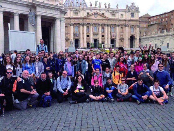 Preadolescenti a Roma con l'Arcivescovo