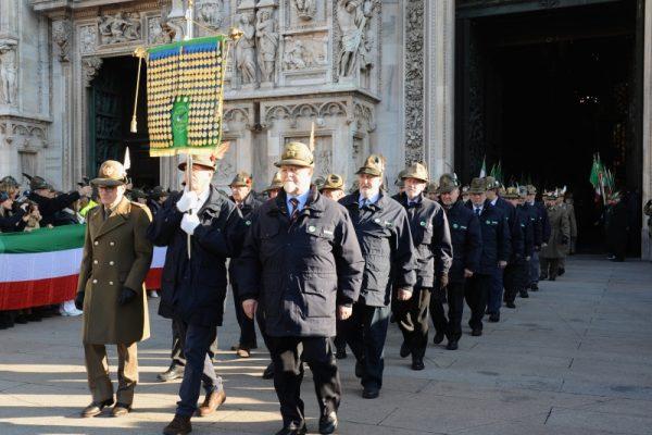 Alpini, in Duomo la Messa per i caduti