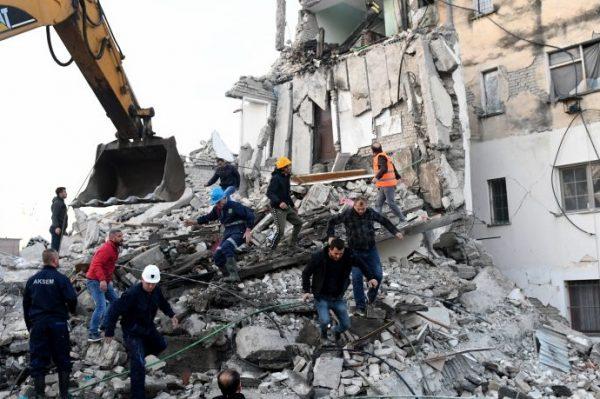 Terremoto in Albania, raccolta fondi Caritas