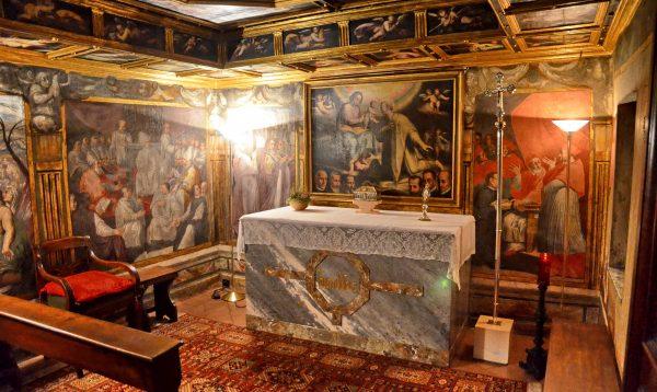"""La Cappella di San Carlo, """"eremo"""" dei vescovi ambrosiani"""